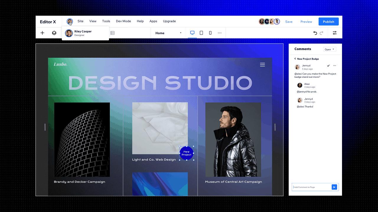 editorx pr screenshot