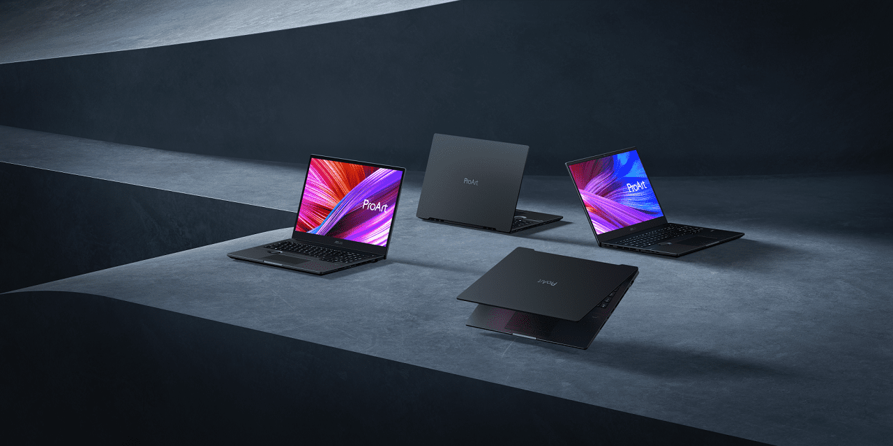 asus ProArt StudioBook 16 & Pro 16 OLED_product lineup