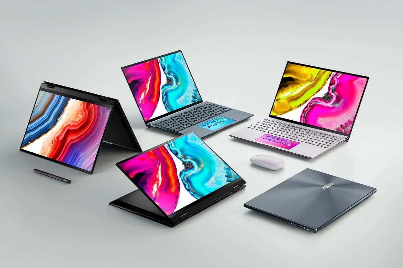 asus Zenbook 14X & 14 Flip OLED_product lineup